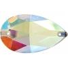 Crystal Sew-on Stone Drop 22x38mm (1pc) Crystal Aurora Borealis